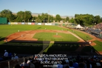 Members attend Boise Hawks Game 01.JPG