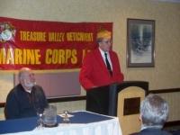 Nov2009_JrViceCmdt, John Walker opening up Press Conference for 2011MCL National Convention.JPG