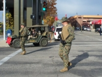 2008 Veterans Day Parade Marine Security.JPG