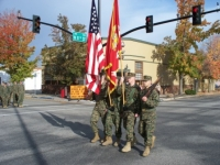 2008-Veterans Day Marine Color Guard.JPG