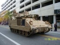 Veterans Day Parade Track Vehicle.JPG