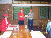 Ken Johnson presented Certificate of Appreciation.JPG