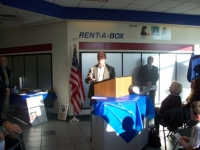 December 5, 2009_Nampa Mayor, Tom Dale speaking at Nampa PO dedication.JPG