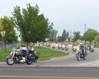 Sep 29th_ Honor Guard on bikes escorting CWO Phelps, US Army, MIA back home.JPG