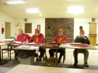 Oct 15th Staff Mtg, L_R, John, Rich, Arnie & Bob Smith.JPG