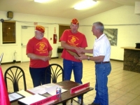 Sep 17th, Stan Meholchick being award for his services.JPG