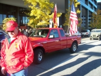 Nov 7, 2009 Assembling for Veterans Day Parade.JPG