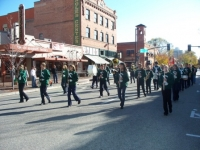 Nov7,2009 Veterans Day Parade, HS Band.JPG