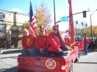 Nov7,2009 Veterans Day parade, MCL Det 878 on the go.JPG