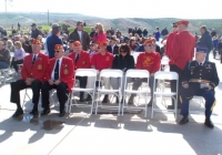 Front row-Cmdt Randel, Ralph Elston Back row,L-R; Art Kilton, unk, Doc Janko, unk.JPG