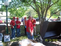 May 15, 2010_  Five supervisors explaining how to ignite a barbeque grill.JPG