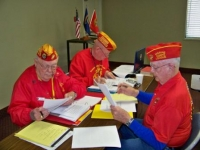 Apr2010_McCall, ByLaw Committee, Roy Weaver, Bob Rohrschieb & BobbyLee.jpg