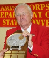 "Department of Idaho ""Esprit de Corps"" Award accepted by Gary Randel-1.JPG"