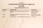 Agenda Hearing 4 Feb 2014.JPG